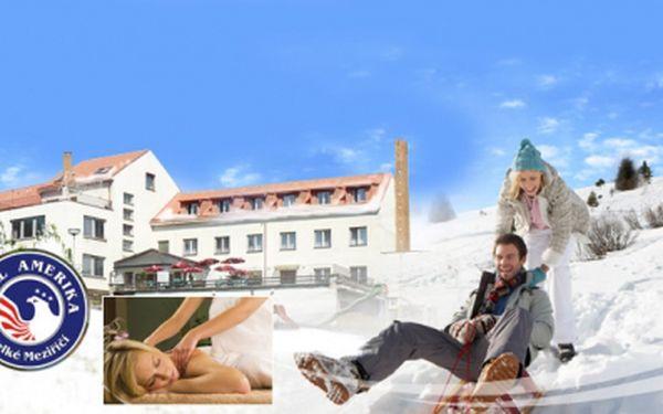 Ubytování pro DVA ve Velkém Meziříčí v Hotelu Amerika *** s POLOPENZÍ za skvělých 1200 Kč! Užijte si 3 DNY/ 2 noci na nejklidnějším místě na Vysočině se slevou 54%!