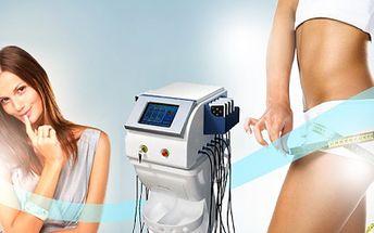 Nejúčinnější kontaktní gelipo laserová lipolýza s kavitací, vibrační plošinou a lymfodrenáží! Kombinace 4 nejlepších zeštíhlujících procedur za 590 kč + analýza těla navrch! Sleva 94%!