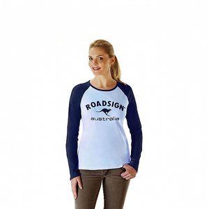 Dámské modré tričko Roadsign Australia