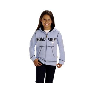 Dívčí bledě modrá mikina Roadsign Australia