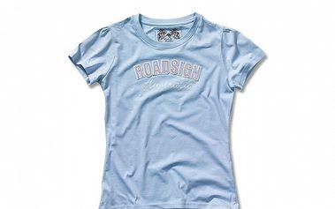 Dámské světle modré tričko Roadsign Australia s nášivkou