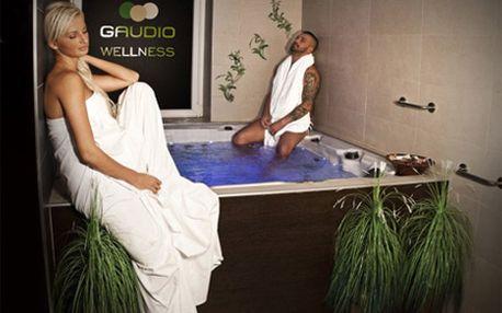 Privátne wellness pre DVOCH na 2 hodiny s pohárom kvalitného sektu na prípitok v hoteli Gaudio! Príďte si vo dvojici oddýchnuť v saune či vírivke a užite si relax a romantiku so zľavou 81%!