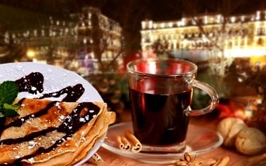 2x punč nebo svařák a 2x palačinka s ovocem za senzační cenu 99 Kč! Přijďte si vychutnat vynikající punč nebo svařák a výborné palačinky s ovocem do proslulého Café baru v světoznámem hotelu Donatello! Sleva 48%!