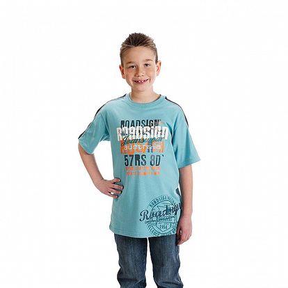 Chlapecké světle modré tričko Roadsign Australia s potiskem
