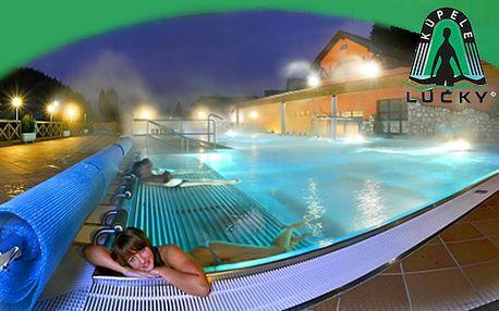 Procedúrami nabitý trojdňový pobyt v Kúpeľoch Lúčky AQUA-VITAL Park na Liptove vo dvojici len za 149 €. Polpenzia, vstup do bazénov a vitálneho sveta, k tomu masáž a minerálna vaňa, fitnes, billiard...relax ako má byť.