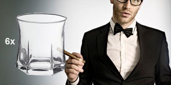 Sada šiestich kusov elegantných pohárov so zľavou 50%! Ozdobte si svoju domácnosť krásnymi sklenými pohármi za neuveriteľnú cenu len 5 €.