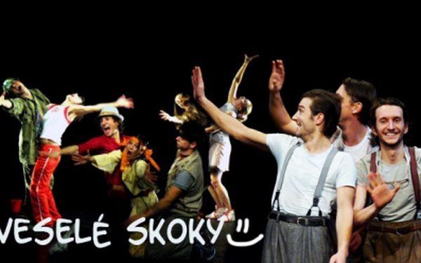 Činohra, tanec, komedie, pantomima, step a radost v jednom. Vyberte si sami PŘEDSTAVENÍ souboru Veselé skoky divadla V Celetné, na která až do konce zimy můžete pozvat rodinu či přátele se slevou 50%, jen za 130 Kč!