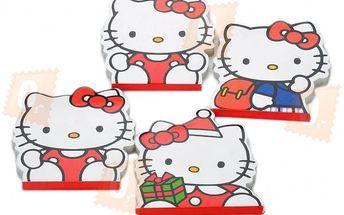 Sada kouzelných bloků s motivem Hello Kitty - 4 kusy a poštovné ZDARMA! - 367