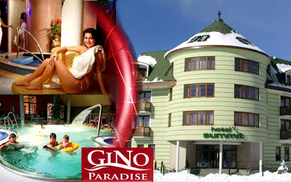 Len 116€ za dve noci pre dve osoby v Hoteli Summit*** v Bešeňovej len 500m od Thermal Parku Gino Paradise. Relax pre telo i dušu s 50% zľavou.