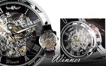 Winner PÁNSKÉ HODINKY jen za 599 Kč včetně poštovného! Darujte luxusní kožené hodinky, které doplní styl každého muže. Nyní super sleva 52%!