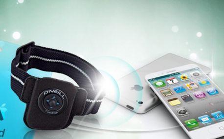 O'Neill Control Freak - malé, lehké dálkové ovládání, které bezdrátově ovládá váš iPhone nebo iPod za senzačních 249 Kč! Použijete vždy, když potřebujete změnit melodii nebo upravit hlasitost! Sleva 75%!