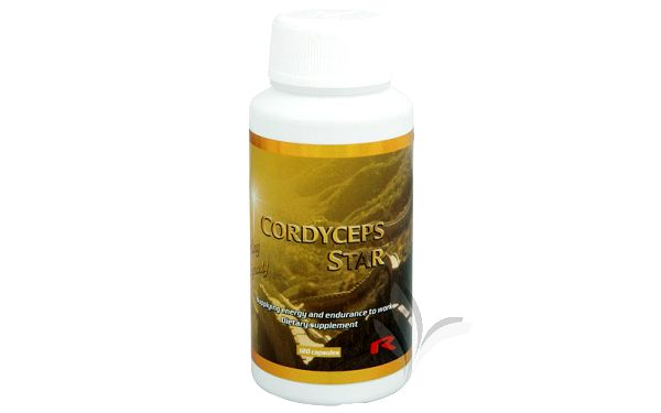 Cordyceps Star 120 kapslí