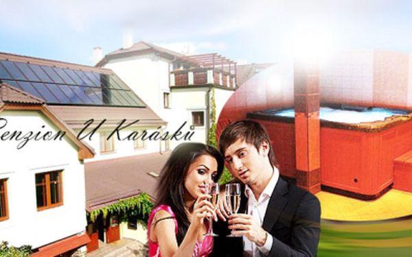 Třídenní romantický WELLNESS pobyt pro 2 osoby s nadstandardní POLOPENZÍ v Penzionu U Karásků*** v Počátkách na Vysočině již od 2 112 Kč! V ceně 2x dvouhodinové privátní WELLNESS!
