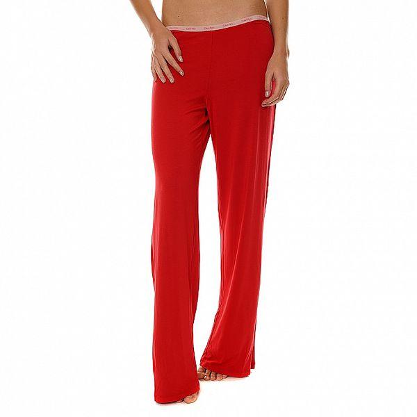 Dámské červené pyžamové kalhoty Calvin Klein