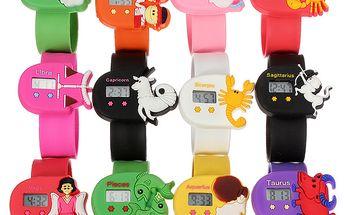 Dětské digitální hodinky se znaky horoskopu - na výběr ze 12 variant a poštovné ZDARMA! - 1