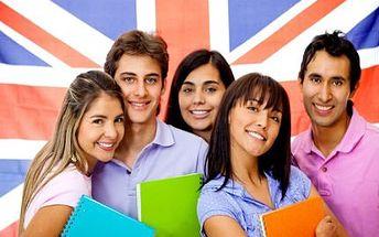 Výuka angličtiny! 5x 50 minut individuální výuky angličtiny kdykoliv a kdekoliv!