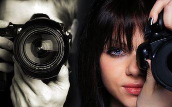 8hodinový kurz focení! Naučte se fotit jako profesionál - fotit budete modelky i krajinu!