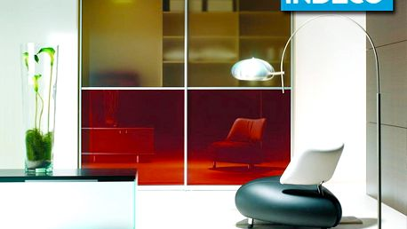 Len 50 € za eleganciu, dizajn a praktickosť vstavanej skrine INDECO. Až 67% zľava na kupón v hodnote 200 € na akúkoľvek vstavanú skriňu s posuvnými dverami.