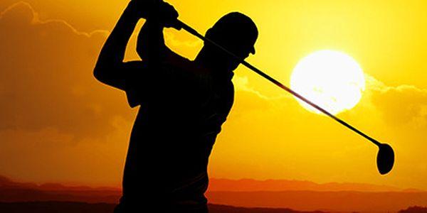 Golfový simulátor - 1 hod. v Golfcentru Hotelu Čechie - hra na 45-ti světových hřištích.