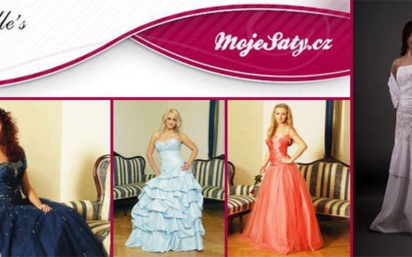 Společenské nebo svatební šaty, kterými okouzlíte své okolí
