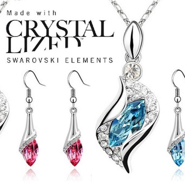 Elegantná súprava šperkov Swarovski Elements teraz so zľavou až 54%!!!