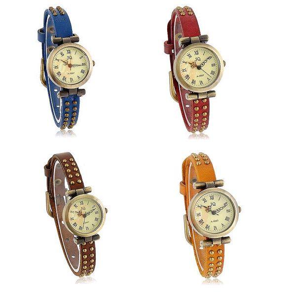 Dámské náramkové retro hodinky - na výběr ze 4 barev a poštovné ZDARMA! - 1