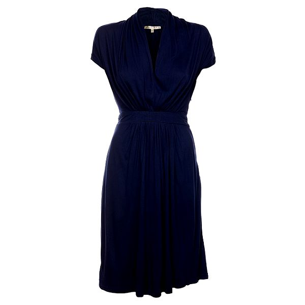 Dámske tmavo modré šaty Uttam Boutique