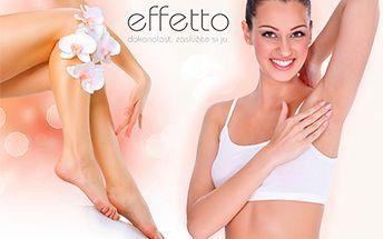 Zbavte sa chĺpkov NATRVALO a získajte hladkú pokožku rýchlo a bezbolestne v exkluzívnom štúdiu EFFETTO!