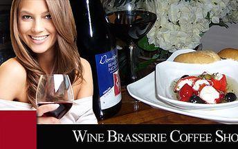 Vynikajúce bagetkové špeciality s fľaškou kvalitného vínka iba za 12,90€! Poseďte si s priateľmi v príjemnej vinotéke Wine bar pri lahodnom vínku a chuťovkách!