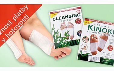 Sada tří balení detoxikačních náplastí Kinoki za cenu, která nemá konkurenci! Pouhých 85 Kč!!! Využijte slevy 72% a získejte tyto skvělé náplasti, které Vám pomohou detoxikovat organismus.