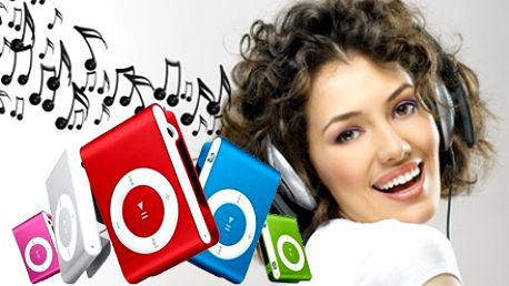 Najmenší MP3 prehrávač s najnižšou cenou na trhu! Len 4,99 € za kompaktný mini prehrávač v 6 farebných prevedeniach spolu so stereo slúchadlami pre vychutnanie si svojej obľúbenej muziky.