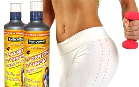 Zhubněte s 1 litrem L-Carnitinu! Spaluje tuky, zabraňuje apatii a únavě. Povzbuďte organismus a buďte přirozeně fit!