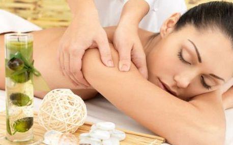 Výběr ze 3 masáží! ABS, ruční lymfatická nohou nebo klasická relaxační masáž zad a šíje!