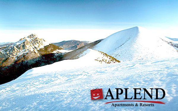 Nadštandardné lyžovanie pre 3 v Malej Fatre – 3, 4 alebo 6 dní uprostred hôr, až 30% zľava na skipasy