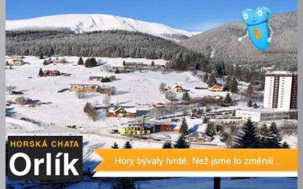 Krkonoše, Pec, chata Orlík, od 10.3. Pobyt se snídaní pro 2 na 3 dny. V ceně sauna a vířivka v relaxační místnosti s krásným výhledem. Horská chata Orlík v Peci pod Sněžkou Vás zve na pobyt v termínech 10.03.2013 - 30.11.2013