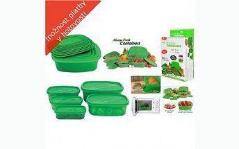 Sada dóz King Fresh za 119 Kč! Udržte si své potraviny déle čerstvé! Dózy jsou ideální pro skladování potravin a lze je použít v ledničce, mrazáku i mikrovlné troubě.