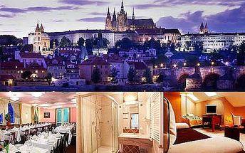 4 denní pobyt v Luxusním hotelu U Divadla**** v Praze u Vyšehradu s večeří ve špičkové restauraci Trója! Navštivte Prahu ve velkém stylu!