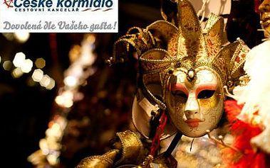 Celodenní zájezd na karneval v Benátkách za 999 Kč!