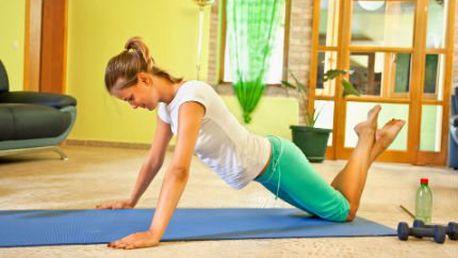 Roční online kurzy cvičení! Hubněte z pohodlí domova - jóga, pilates či další aerobní cvičení!