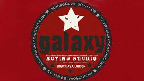4-týždňový herecký alebo moderátorský kurz od GALAXY CASTING vyučovaný slovenskými hercami a známymi osobnosťami! Príležitosť, na ktorú ste čakali je tu!