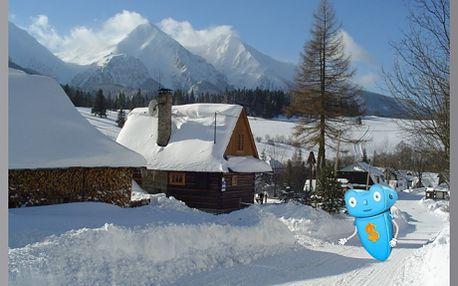 Slovensko, Belianské Tatry, Ždiar, Penzion Ája. 4 dny pro 1 osobu s polopenzí. Celoročně! Zažijete skvělé lyžování i úžasné léto a vše za pohádkové ceny. 4 dny s pestrou polopenzí, vířivkou, bazénem.
