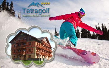 Krásne tatranské prostredie a luxusné ubytovanie Tatragolf Mountain resorts**** na 3 dni pre 2 osoby v 1-izbovom apartmáne so zľavou 60%!
