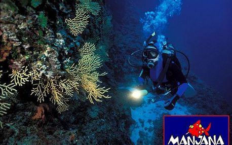 Chorvatsko, Brač, kurz potápění. Užijte si pláže i adrenalin a získejte potápěčskou licenci! 7 dní dovolené, která potěší celou rodinu. Plánujte dovolenou v předstihu!
