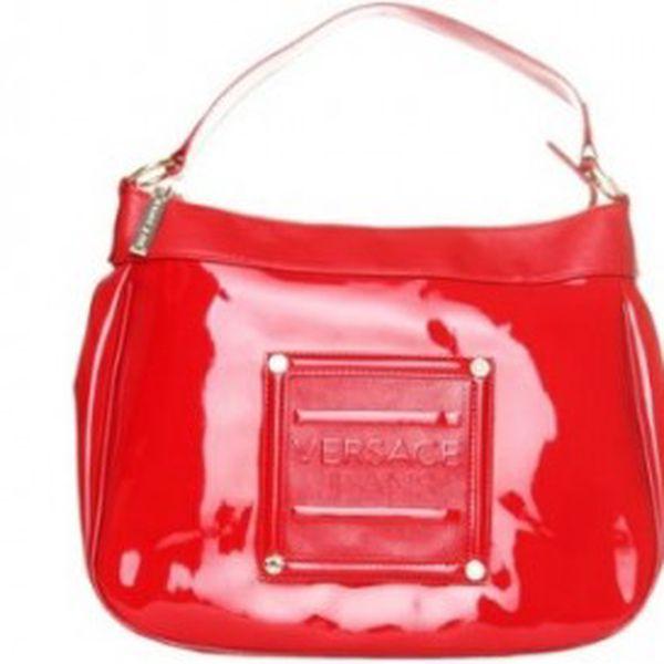 Dámská kabelka Versace červená 4A504