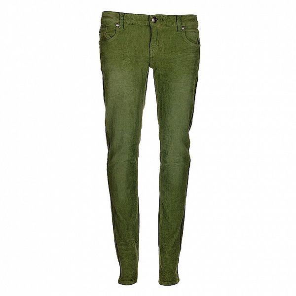 Dámske zelené nohavice Bleifrei