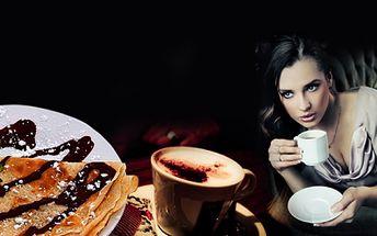 Káva Lavazza s palačinkou pro 2 osoby za skvělých 99 Kč! Přijďte si k nám vychutnat vynikající italskou kávu a palačinku! 2 za cenu 1! Báječná sleva 50%!