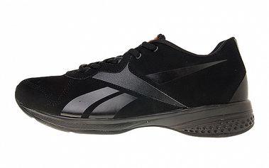 Dámské černé fitness boty Reebok se semišovou úpravou