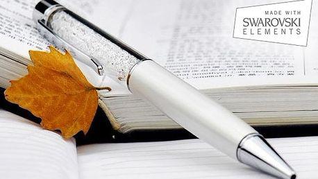 Luxusné pero aj pre dotykové displeje s výplňou zo Swarovski kryštálov len za 9,90€. Elegancia a funkčnosť v 4 farbách so zľavou 57%.