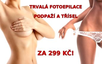 FOTOEPILACE obou podpáží a třísel (Bikini-line) za neuvěřitelnou cenu! Trvalá epilace chloupků se skvělými výsledky v salonu Style, Praha 5!