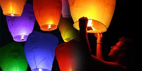 Poslední šance! 10 ks velkých létajících lampiónů štěstí pouze za 189 Kč! Novoroční nabídka nádherných lampiónů, které jsou ideální pro radostné chvíle! Pošlete své přání do nebe…Prožijte Vy i Vaši přátelé okouzlující zážitek. Ideální pro jakoukoliv událost!